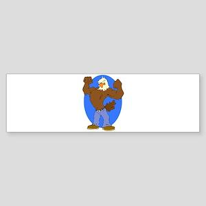 Bald Eagle Sticker (Bumper)