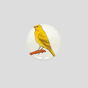 canary and bluebird Mini Button