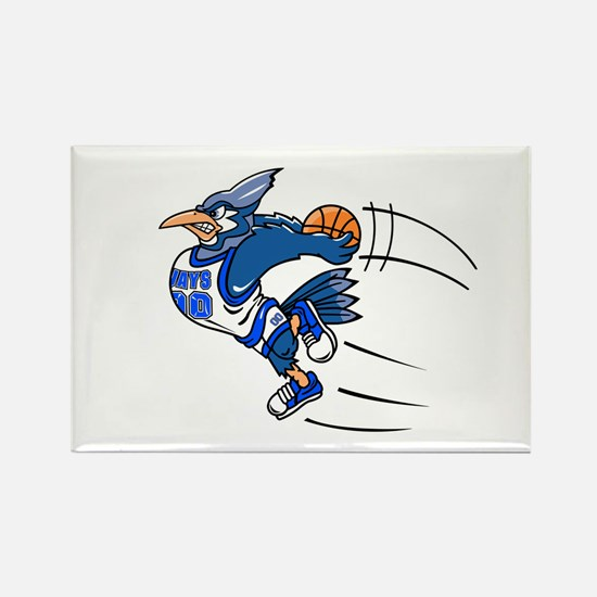 B is for blue jay Rectangle Magnet (100 pack)