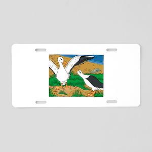 Albratross Bird Aluminum License Plate