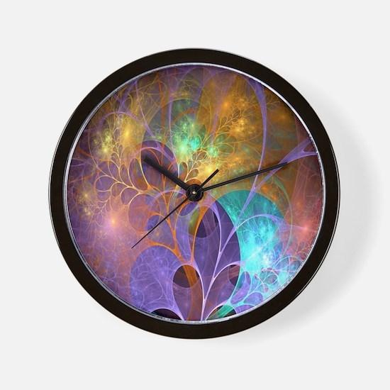 Dream Fantasy Garden Wall Clock