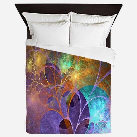 Dream Fantasy Garden Queen Duvet