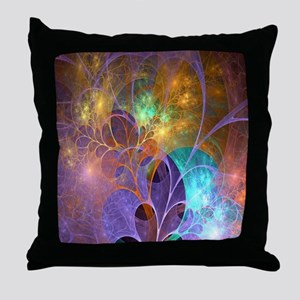 Dream Fantasy Garden Throw Pillow