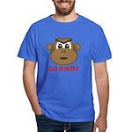 Go Away Monkey Dark T-Shirt