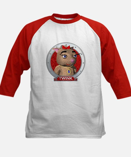 Twink's Red Portrait Kids Baseball Jersey