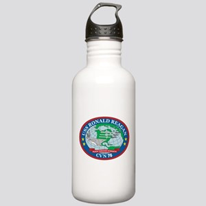 Uss Ronald Reagan Logo Stainless Water Bottle 1.0l