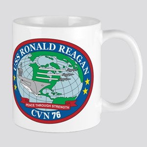 Uss Ronald Reagan Logo Mug Mugs