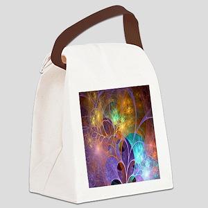Dream Fantasy Garden Canvas Lunch Bag