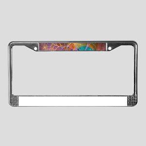 Dream Fantasy Garden License Plate Frame