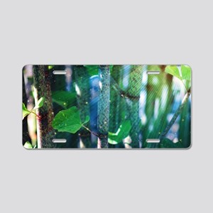 Exotic Plant Aluminum License Plate
