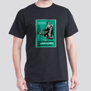 Stop Syphilis VD (Front) Dark T-Shirt