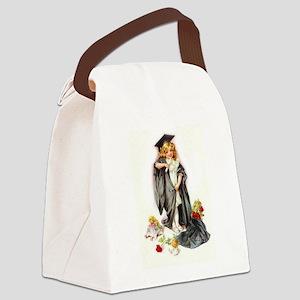 Maud Humphrey - Graduation Canvas Lunch Bag