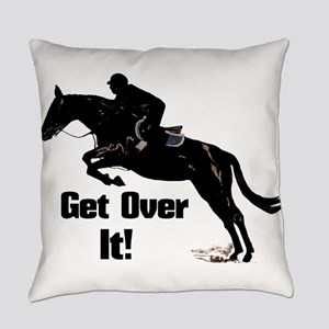 Get Over It! Horse Jumper Everyday Pillow