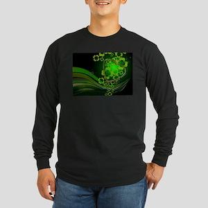 Heart And Shamrocks Long Sleeve T-Shirt