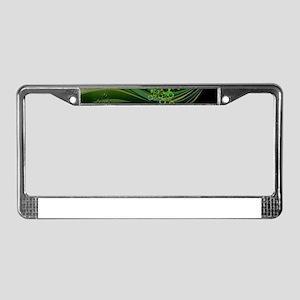 Heart And Shamrocks License Plate Frame
