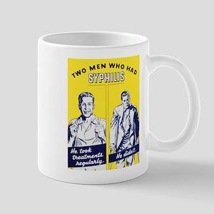 Stop Syphilis Venereal Disease Mug