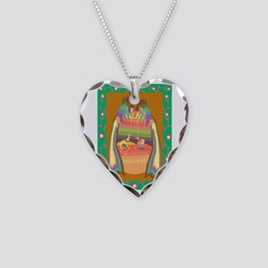 cave of jewels Necklace Heart Charm