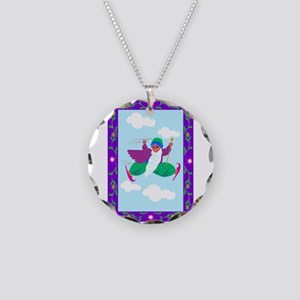cave of jewels Necklace Circle Charm