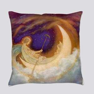 Moonboat to Dreamland Everyday Pillow