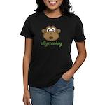 Silly Monkey Women's Dark T-Shirt