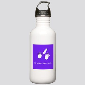 Ask Believe Allow Receive Gifts 2 Water Bottle