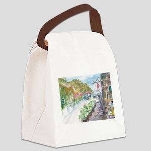 I Love St Barth Canvas Lunch Bag