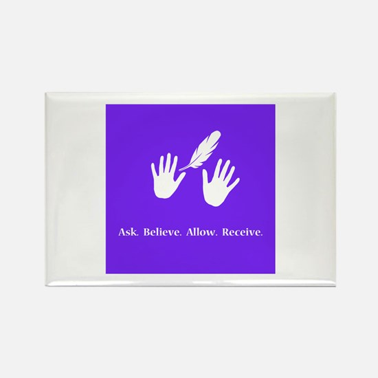 Ask Believe Allow Receive Gifts 2 Magnets