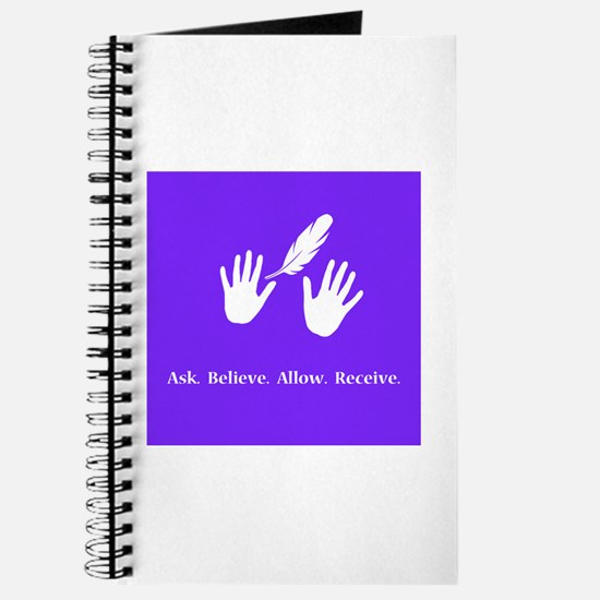 Ask Believe Allow Receive Gifts 2 Journal