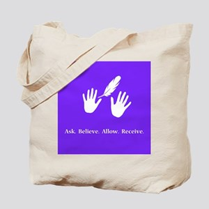 Ask Believe Allow Receive Gifts 2 Tote Bag