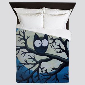 Night Owl Queen Duvet