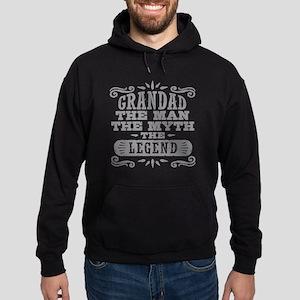 Funny Grandad Hoodie (dark)