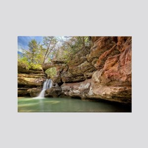 Hocking Hills Waterfall Rectangle Magnet