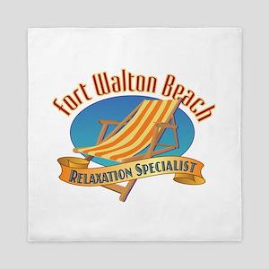 Fort Walton Beach - Queen Duvet