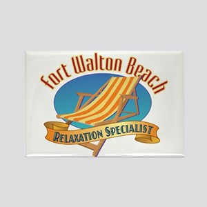 Fort Walton Beach - Rectangle Magnet