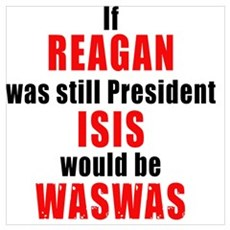 ISIS would be WASWAS Poster
