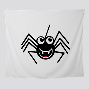 Smiling Spider Wall Tapestry