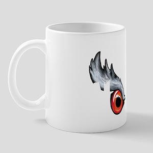 Northern Goshawk - White Letters Mug