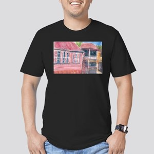 St Barth Homes Men's Fitted T-Shirt (dark)