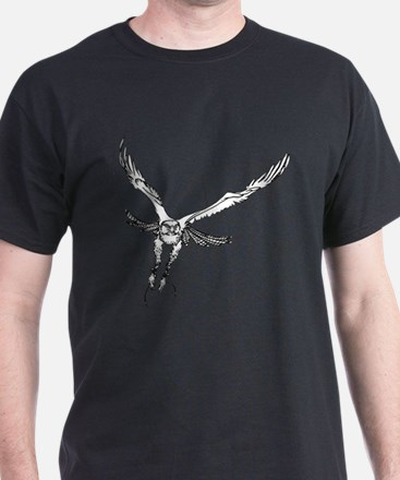 Unique Red hawk T-Shirt