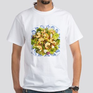 Shoeless in the Salad White T-Shirt