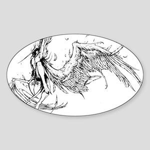 Lucifer Falls Sticker