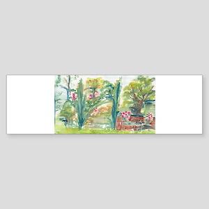 Virginia Spring Garden Bumper Sticker