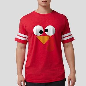 Funny Turkey Thanksgiving Face T-Shirt