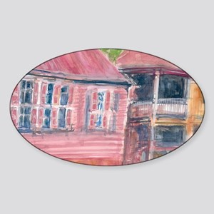 St Barth Homes Sticker (Oval)