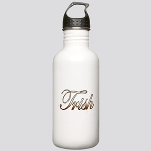 Gold Trish Stainless Water Bottle 1.0L