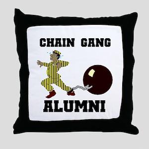 CHAIN GANG Throw Pillow