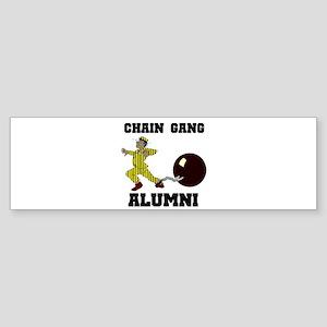 CHAIN GANG Bumper Sticker
