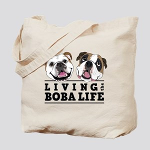 Living the Boba life vertical Tote Bag