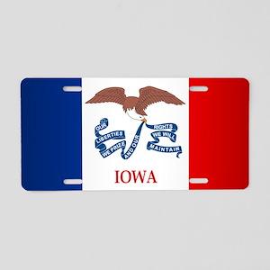 Iowa (F15)b Aluminum License Plate
