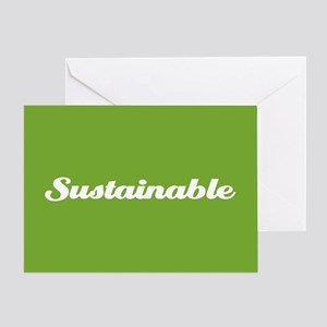 Sustainable Greeting Card